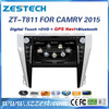 ZESTECH Automotive Use and Touch Screen car dvd gps for Toyota Camry with bluetooth double din High Quality
