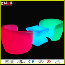 popular living room led illuminated sofa with glowing