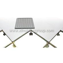 600*600 good calidad anti-static steel raised access floor, PVC tile