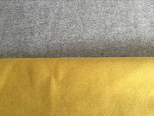 2015 winter hot selling pure colour double-edged woollen/polyester/viscose fabric for topcoat for wholesale (12368-62#)