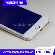 fashionable high transmittance shatterproof anti blue ray screen guard for iphone 6 plus