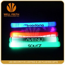 LED Multicolor Light Up Foam Baton Stick With Logo,Color Changing LED Concert Foam Sticks