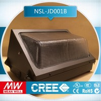 free sample100,000 Hours Life Span 35w led wall pack light used indoors or outdoors to illuminate dim areas
