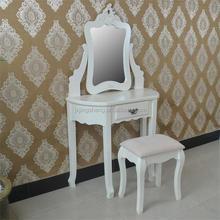 Vintage trade delicate vanity dressing table with cupboard dresser for bedroom furniture
