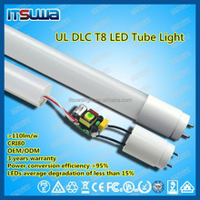 1200mm 18w t8 led red tube equal to 60W fluorescent tube daylight white in wholesales price