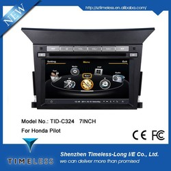 Car DVD for Honda Pilot 2013 with Gps 7 inch RDS iPod Radio Bluetooth 3G Wifi 20 disc copying S100 platform ( TID-C324)