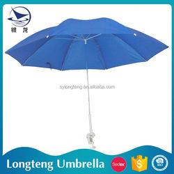 China Manufacturer Wind resistant Sun and rain Aluminum Straight branded umbrella