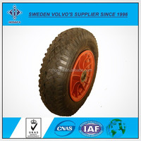 Standard Tricycle Rubber Wheels with Wear Proof