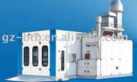 german technology paint spray booth