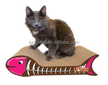 Made in China recyclable new design cardboard paper cat bed