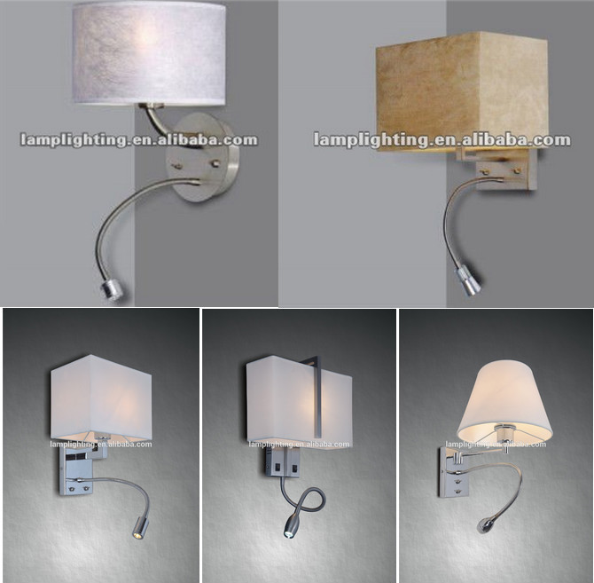 Hotel Room Bedside Wall Lamp With Led - Buy Led Wall Lamp,Bedside Wall Lamp,Wall Lamp Product on ...