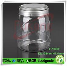 1 liter plastic packing bottles for refined sunflower oil