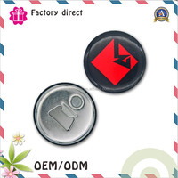 custom easy open lid can magnetic tinplate bottle opener