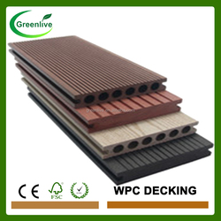 Antiseptic outside pine wall decking