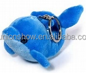 stuffed dolphin toy plush dolphin with keychian