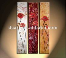 2012 Hot selling modern decorative flower abstract