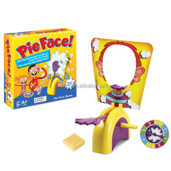 Factory direct offer hot sell toy Pieface family and party funny Pie Face Game Plastic toy