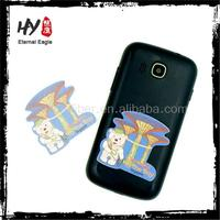 Promotional custom print microfiber cleaning cloth, custom sticky phone screen cleaner, hand phone screen cleaner