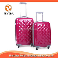 High Quality Diamond Shape ABS+PC Suitcases For Sale