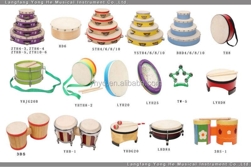 Venta al por mayor hermosa de instrumentos de percusión pandereta ...