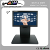 7 inch 5:3 Resisitive Desktop Payment usb powered 800x480 touch screen monitor