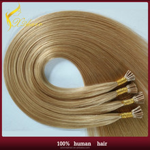 High quality grdae 5a virgin remy indian hair extension I tip/Pre bonded hair