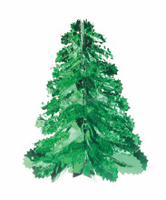 Fashion Price High Quality Party Decoration Green Pine Cone Christmas Tree Style Tinsel Garland Christmas Garland