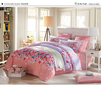 Si Xiu Yuan New product bedding set with printed flower