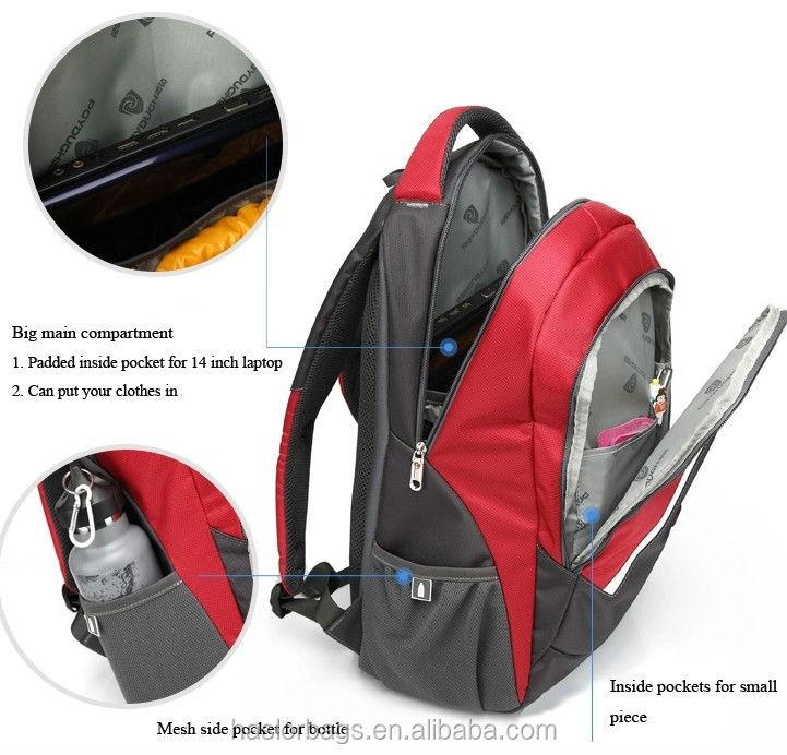 Mode sac à dos ordinateur portable sac pour les entreprises