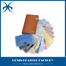 namecard holder credit cards holder cardholder leather gifts for graduation leather items made in china