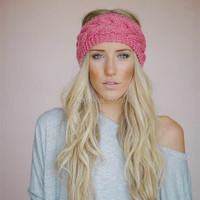 Fashion accessories knitted headband ear warmer baby headband