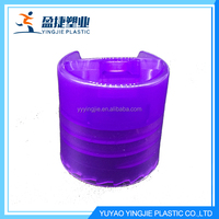 Hot Sell Delicate Multicolor Snap On Plastic Cap For Bottle