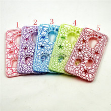 Wholesale alibaba Footprint Hollow Out Star Crack hard plastic PC back case For Iphone 5,smart accessories for mobiles