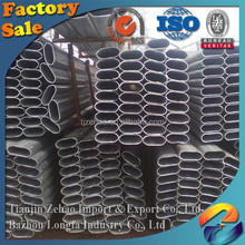 building material/structure/construction/best selling product/fence thin wall Factory ERW Q345 China Galvanized oval steel pipe