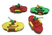 hot selling ABS classic mini plastic promotional toys with CE