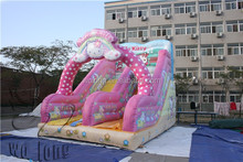 commercial PVC material inflatable slip and slide