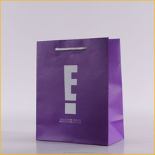 colorful promotional art paper gift bag