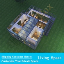 Self contained house container prices,finished container house with bathroom