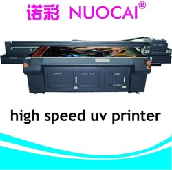2015 Multicolor Color & Page and Automatic Grade uv led inkjet printer ceramic frit print on glass for sale