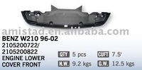 FOR BENZ W210 OEM 2105200722 / 2105200822 AUTO CAR BODY PARTS FRONT LOWER UNDER ENGINE COVER