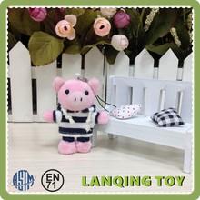 Cute Minion Stuffed Plush Pink Pig Toy