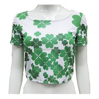 Wholesale 2015 New Arrival Women Sexy Clothing Neck Flying Sleeves Crop Top