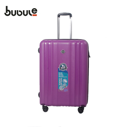 BUBULE Hottest sale luggage, travel trolley luggage bag Pure PP material with double universal wheels