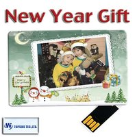 Best electronic christmas gifts 2012 christmas card USB gift