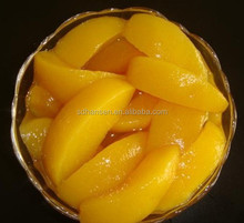 850g canned yellow peach regular sliced in syrup 3kg/tin - stock&good price