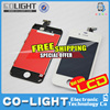 2015 Free Shipping!!! For Apple iphone 4s LCD with touch screen Glass and digitizer assembly
