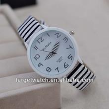 jw162 criativa caneta setas brilhante pu pulseira de couro relógio de senhoras estoque atacado