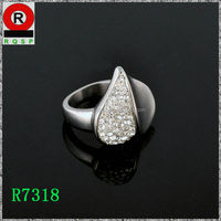 Artificial jewelry fashion jewelry in chile heart ring manufacturers of jewelry in china