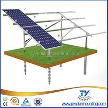 solar ground mounting system/racking system/solar bracket for solar plant