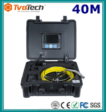Staniless Steel Lens 40M Underwater Inspection Camera/Pipe And Wall Inspection/ Snake Video Pipe Inspection Camera System